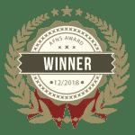 Badge gagnant de concours de l'afns photographie maternité à internationale.