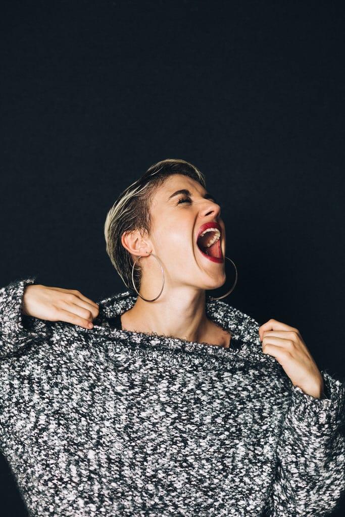 séance portrait femme studio corinne ballouard photographe bordeaux